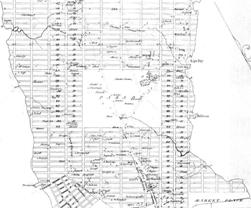 Commissioners Plan of 1811- Map