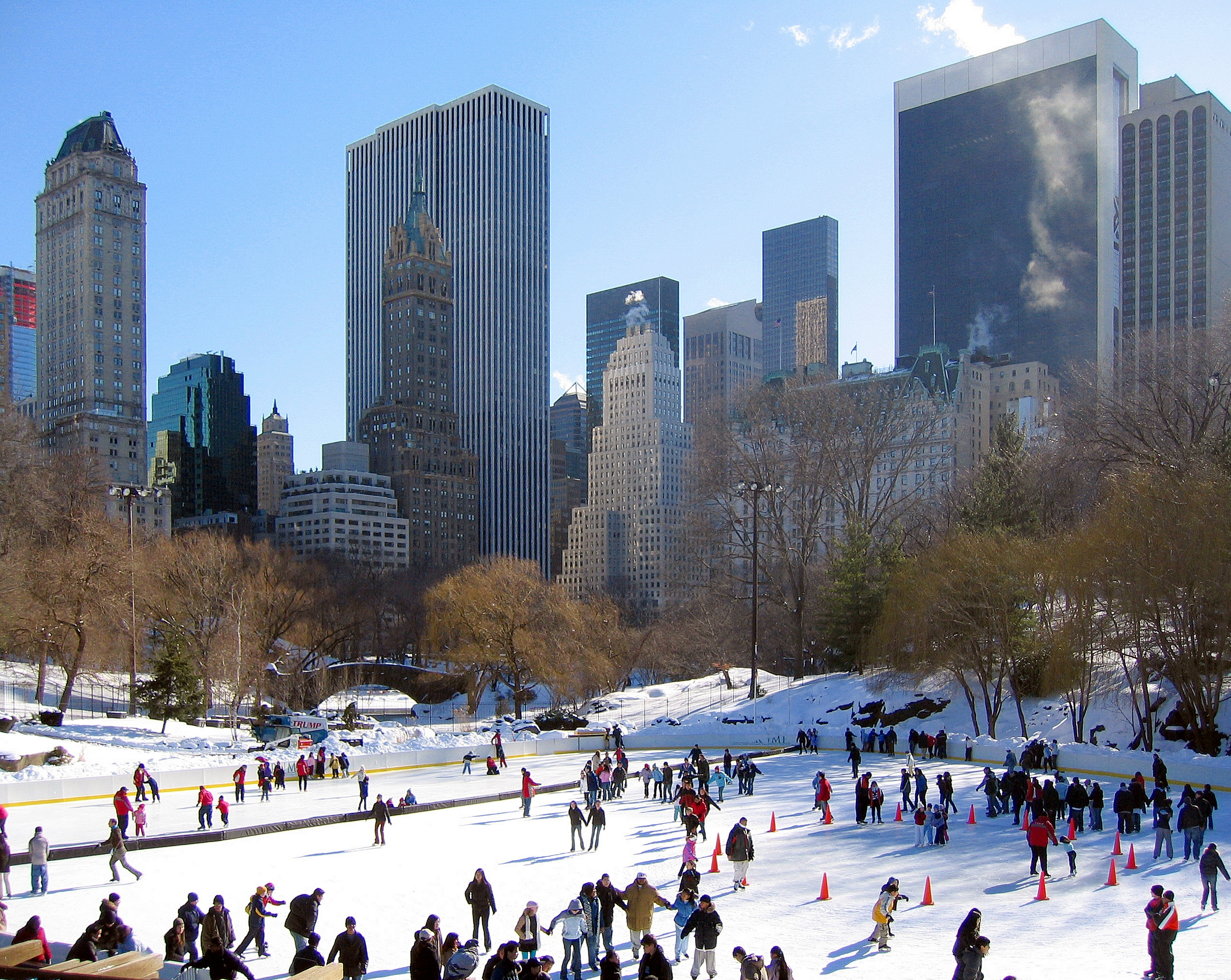 Ice Skating In New York Become A New Yorker